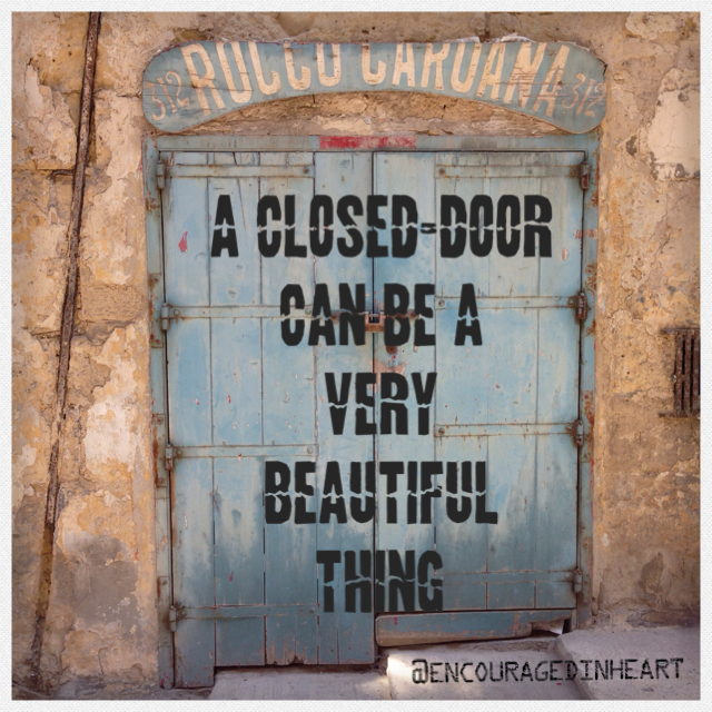 Necessary Endings Image of Closed Door.png